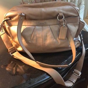 Coach Travel/Diaper Bag